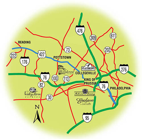 Driving Directions Map